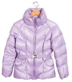 Armani Junior Girls' Puffer Coat