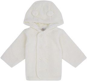 Absorba Knitted Faux Fur Cardigan