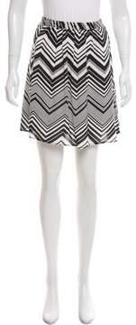 Ella Moss Printed Mini Skirt