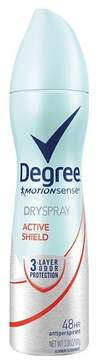 Degree MotionSense Active Shield Dry Spray Antiperspirant and Deodorant - 3.8oz