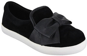 Mia Black Twist Slip-On Shoe