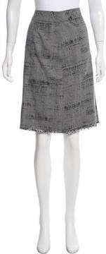 Cynthia Steffe Cynthia Plaid Lace-Accented Skirt