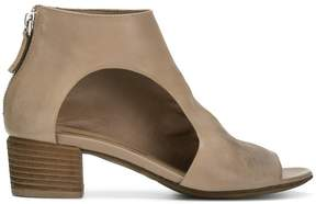 Marsèll cut-out side ankle boots