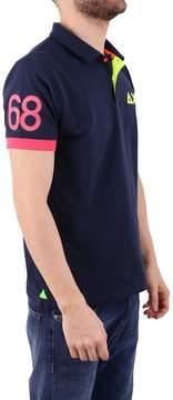 Sun 68 Blend Cotton Polo Shir