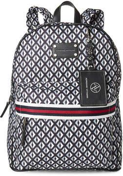 Adrienne Vittadini Diamond Printed Laptop Backpack