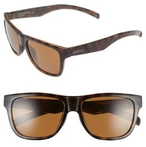 Smith Women's 'Lowdown Slim' 53Mm Sunglasses - Tortoise/ Polarized Brown