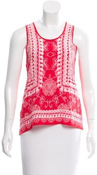Emma Cook Silk Printed Top