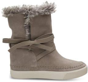 Toms Desert Taupe Suede Women's Vista Boots