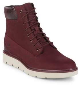 Timberland Suede High-Top Boots
