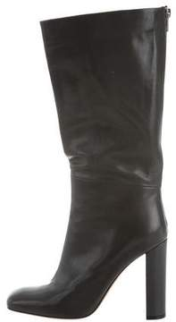 Celine Leather Knee-High Boots