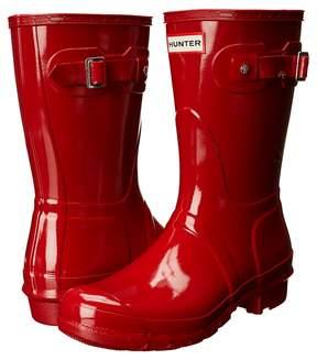 Hunter Short Gloss Rain Boots Women's Rain Boots