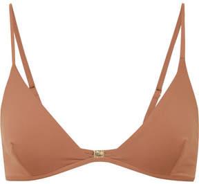 Melissa Odabash Bali Triangle Bikini Top - Tan