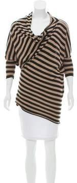 Mason Asymmetrical Stripe Sweater