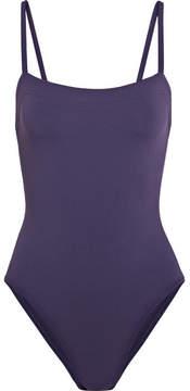 Eres Les Essentiels Aquarelle Swimsuit - Dark purple