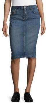 Calvin Klein Jeans Woven Pencil Skirt