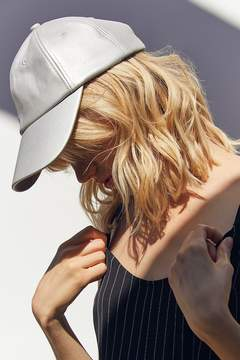 Urban Outfitters Faux Leather Baseball Hat