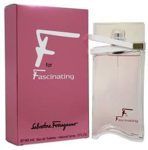 F For Fascinating by Salvatore Ferragamo Eau de Toilette Women's Spray Perfume - 3 fl oz