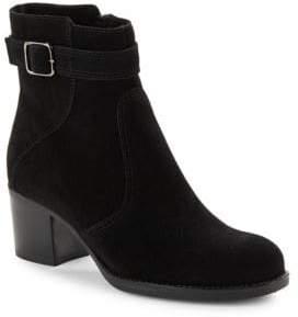 La Canadienne Brixton Suede Ankle Boots