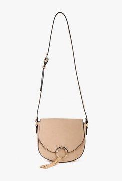 Crossbody Buckle Tassel Bag
