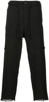 Craig Green pleated straight-leg trousers