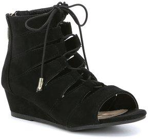 Sam Edelman Girls' Kelley Santina Open Toe Wedge Sandals