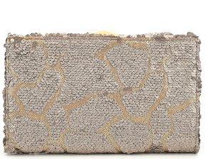 Kate Landry Sequin Frame Clutch