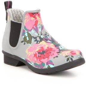 Chooka Chelsea Alice Floral Print Rain Boots