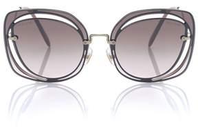 Miu Miu Cut-out sunglasses