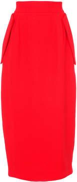 Dice Kayek high waist straight skirt