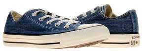 Converse Chuck Taylor All Star OX Washed Canvas Navy Low Top Sneakers 147038F