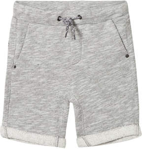 Ikks Grey Marl Sweat Shorts