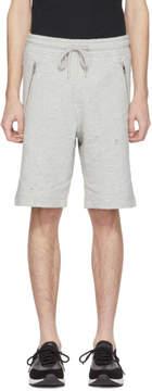 Diesel Grey P Bir Distressed Lounge Shorts