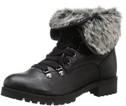 BC Footwear Womens Antics Faux Fur Closed Toe Mid-calf Cold Weather Boots.