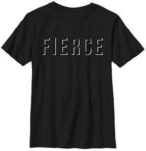 Fifth Sun Black 'Fierce' Crewneck Tee - Youth