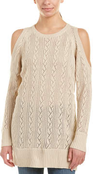 Flying Tomato Cold-Shoulder Sweater