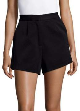 Finders Keepers Solid Flared Shorts