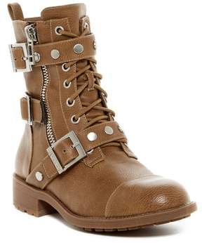 Charles by Charles David Colt Strappy Moto Boot