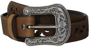 Ariat Scroll Paisley Pierced Belt Women's Belts