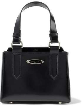 Lanvin Glossed-Leather Tote