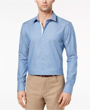 Ryan Seacrest Distinction Men's Slim-Fit Chambray Shirt, Created for Macy's
