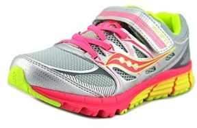 Saucony Zealot Ac Youth W Round Toe Synthetic Silver Running Shoe.