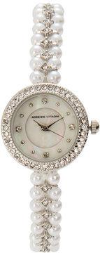 Adrienne Vittadini AD9388 Silver-Tone Watch