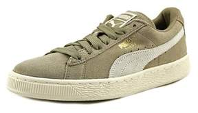 Puma Suede Classic + Youth Us 4 Gray Sneakers.