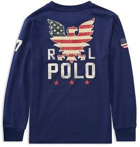 Polo Ralph Lauren Boys' Pocket Graphic Tee - Big Kid