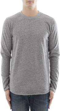Edwin Grey Cotton Sweater
