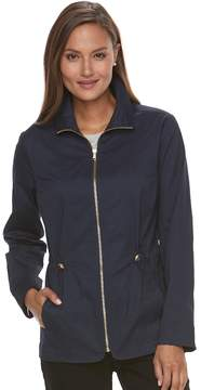 Croft & Barrow Women's Full-Zip Utility Jacket