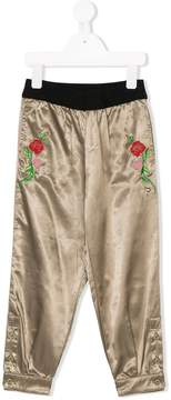 Diesel embroidered trousers
