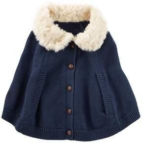 Osh Kosh Oshkosh Bgosh Baby Girl Sweater Poncho