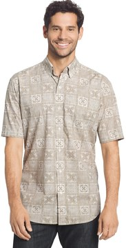 Arrow Men's Coastal Cove Classic-Fit Plaid Button-Down Shirt