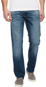 Mavi Jeans Zach Regular Rise Straight Leg in Mid Shaded Williamsburg Men's Jeans